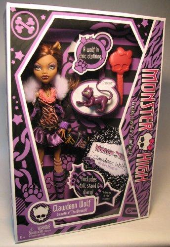 モンスターハイ 人形 ドール N5947 Monster High Clawdeen Wolf Dollモンスターハイ 人形 ドール N5947
