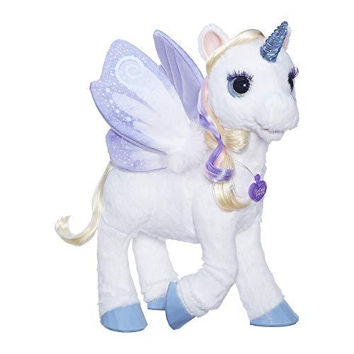 ファーリアルフレンズ ぬいぐるみ 動く 鳴く お世話 【送料無料】furReal StarLily, My Magical Unicorn Interactive Plush Pet Toy, Light-up Horn, Ages 4 and Up(Amazon Exclusive)ファーリアルフレンズ ぬいぐるみ 動く 鳴く お世話