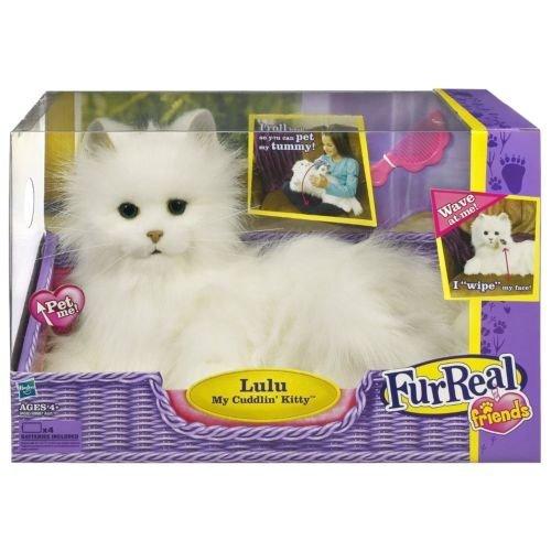 ファーリアルフレンズ ぬいぐるみ 動く 鳴く お世話 【送料無料】FurReal friends Lulu My Cuddlin Kitty Catファーリアルフレンズ ぬいぐるみ 動く 鳴く お世話
