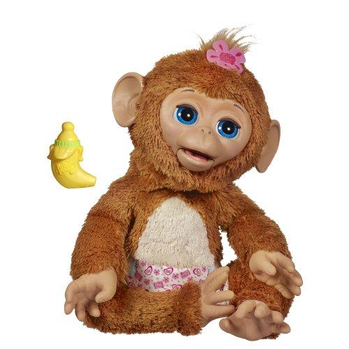 ファーリアルフレンズ ぬいぐるみ 動く 鳴く お世話 【送料無料】FurReal Friends Cuddles My Giggly Monkey Petファーリアルフレンズ ぬいぐるみ 動く 鳴く お世話