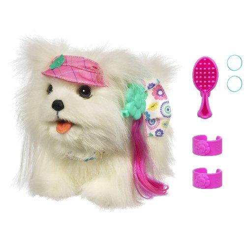 ファーリアルフレンズ ぬいぐるみ 動く 鳴く お世話 【送料無料】FurReal Friends Teacup Pup - Maltese Get Prettyファーリアルフレンズ ぬいぐるみ 動く 鳴く お世話