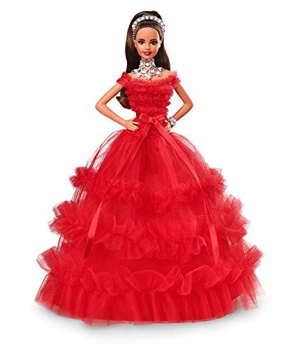 バービー バービー人形 日本未発売 ホリデーバービー Barbie 2018 Holiday Doll, Brunette with Ponytailバービー バービー人形 日本未発売 ホリデーバービー