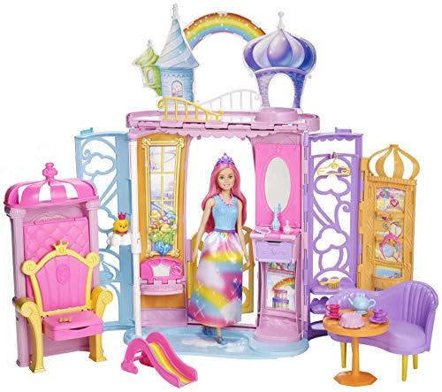バービー バービー人形 ファンタジー 人魚 マーメイド Barbie Dreamtopia Rainbow Cove Doll and Castle Setバービー バービー人形 ファンタジー 人魚 マーメイド