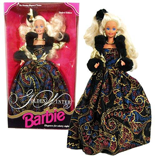 バービー バービー人形 バービーコレクター コレクタブルバービー プラチナレーベル Barbie Mattel Year 1993 Limited Edition The Evening Elegance Series 12 Inch Doll - Golden Wiバービー バービー人形 バービーコレクター コレクタブルバービー プラチナレーベル