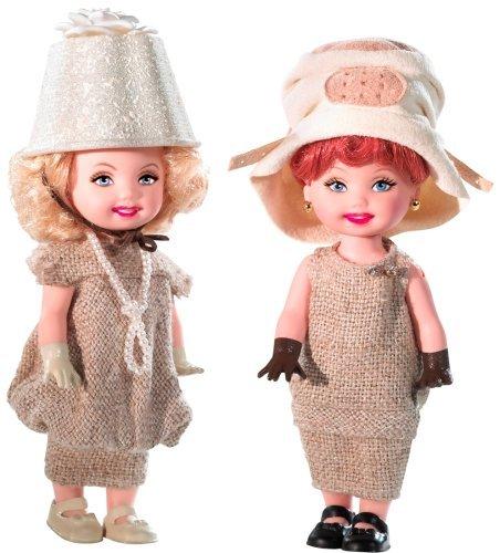 バービー バービー人形 バービーコレクター コレクタブルバービー プラチナレーベル Barbie Celebrity Kelly: Lucy & Ethel job switching gift set N2690 (pink label)バービー バービー人形 バービーコレクター コレクタブルバービー プラチナレーベル