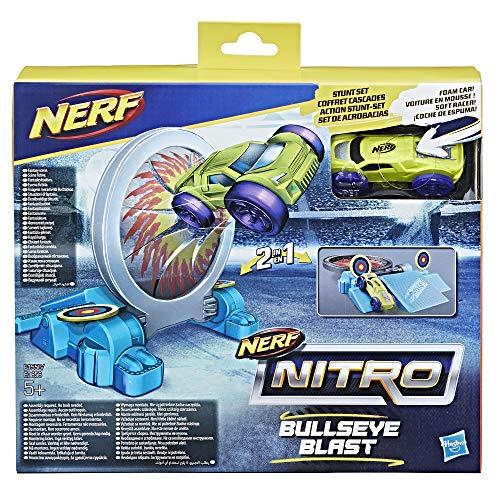 ナーフ ナイトロ アメリカ 直輸入 ミニカー Nerf Nitro Double Action Stunt Foam Car Set - Purple Car (Dispatched from UK)ナーフ ナイトロ アメリカ 直輸入 ミニカー
