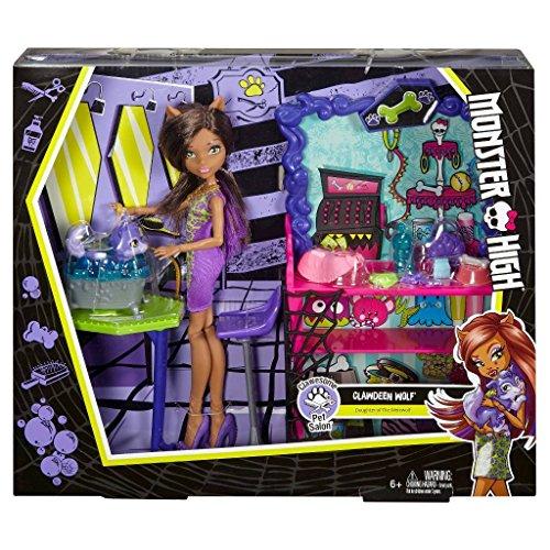 モンスターハイ 人形 ドール 【送料無料】Monster High Clawesome Pet Salon Playset With Dollモンスターハイ 人形 ドール