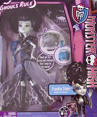 モンスターハイ 人形 ドール MONSTER HIGH Ghouls Rule FRANKIE STEIN DOLL Daughter of Frankenstein w Cauldron & MORE! (2012)モンスターハイ 人形 ドール