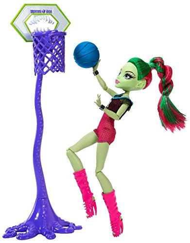 モンスターハイ 人形 ドール 【送料無料】Monster high Venus Mcflytrap Casketball champモンスターハイ 人形 ドール