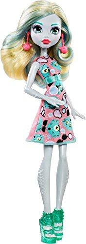 モンスターハイ 人形 ドール 【送料無料】Monster High Lagoona Blue Girl Doll - Wearing Emoji-Inspired Monster High Doll Clothes, 1 Packモンスターハイ 人形 ドール