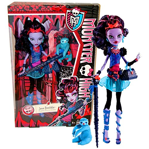 モンスターハイ 人形 ドール 【送料無料】Mattel Year 2013 Monster High Diary Series 11 Inch Doll Set - JANE BOOLITTLE