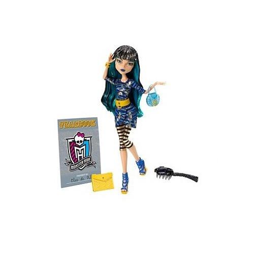モンスターハイ 人形 ドール 【送料無料】Monster High Picture Day Doll - Cleo De Nileモンスターハイ 人形 ドール