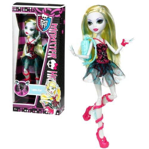 モンスターハイ 人形 ドール 【送料無料】Monster High Mattel Year 2012 Dance Class Series 11 Inch Doll Set - Daughter of The Sea Monster Lagoona Blue in Classical Ballet Outfit with Purseモンスターハイ 人形 ドール