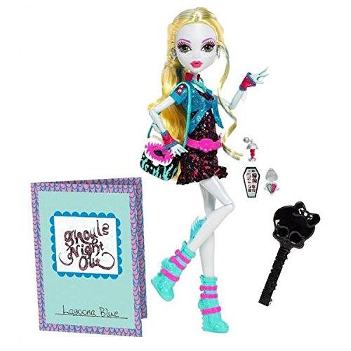 モンスターハイ 人形 ドール 【送料無料】Monster High Ghouls Night Out Lagoona Blue Dollモンスターハイ 人形 ドール