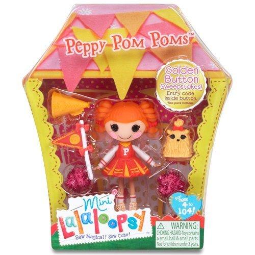 ララループシー 人形 ドール 5022296 Lalaloopsy Mini Peppy Pom Pomsララループシー 人形 ドール 5022296