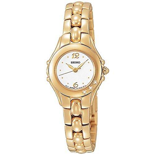 セイコー 腕時計 レディース SXGN14 【送料無料】Seiko Women's SXGN14 Diamond Accented Watchセイコー 腕時計 レディース SXGN14