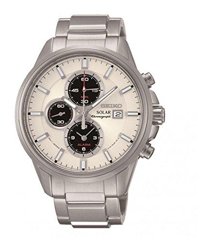 セイコー 腕時計 メンズ SSC251P1 【送料無料】Seiko Men's SSC251P1 Solar Chronograph Stainless Steel 100M Water Resistance Watchセイコー 腕時計 メンズ SSC251P1