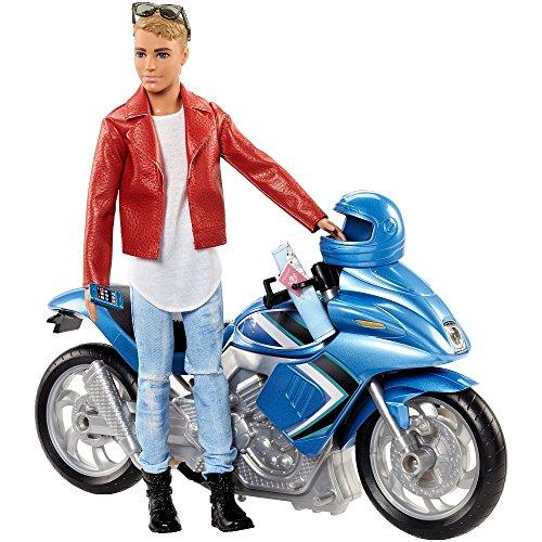 バービー バービー人形 ケン Ken Barbie Pink Passport Ken Doll with Motorcycleバービー バービー人形 ケン Ken