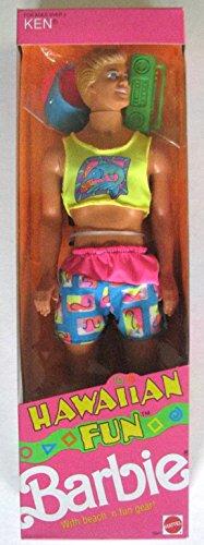 バービー バービー人形 ケン Ken 【送料無料】Barbie Hawaiian Fun Ken Doll - Vintage 1990バービー バービー人形 ケン Ken