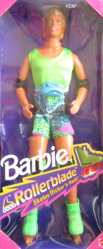 バービー バービー人形 ケン Ken 1991 Rollerblade Ken Barbie Doll #2215 (Ken Doll Only) with Rollerbladesバービー バービー人形 ケン Ken