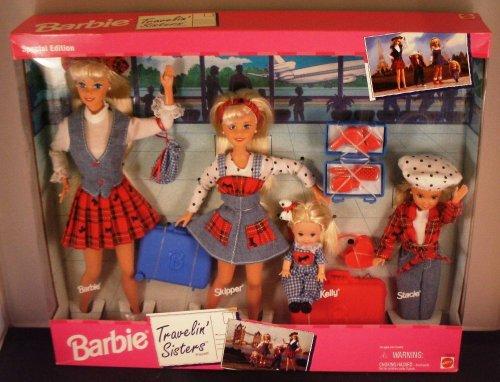 バービー バービー人形 チェルシー スキッパー ステイシー Barbie Travelin' Sisters Playset Special Editionバービー バービー人形 チェルシー スキッパー ステイシー
