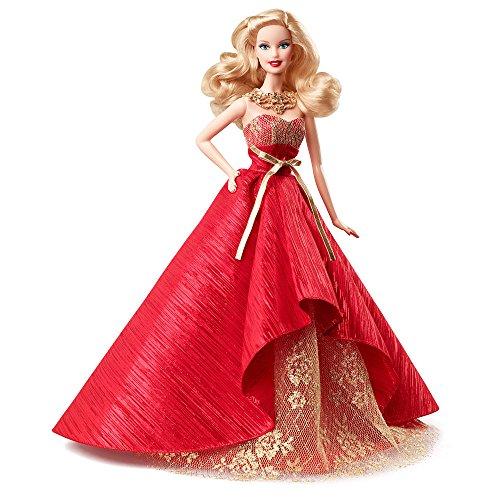 バービー バービー人形 日本未発売 ホリデーバービー 【送料無料】Mattel 2014 Holiday Barbie Doll Blonde Red Gown Collector's Barbieバービー バービー人形 日本未発売 ホリデーバービー
