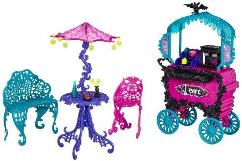 モンスターハイ 人形 ドール Monster High Travel Scaris Caf? Cartモンスターハイ 人形 ドール