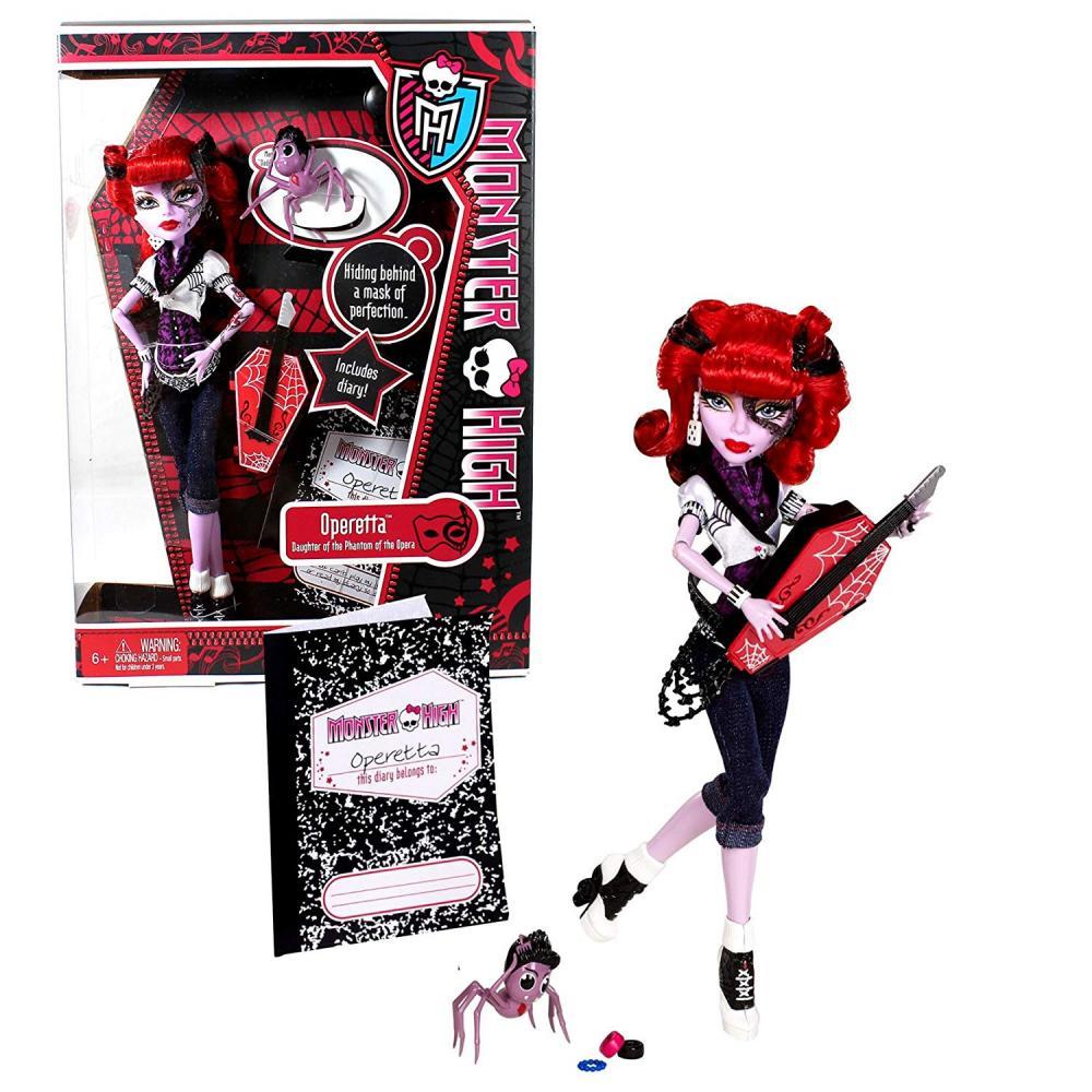 モンスターハイ 人形 ドール Mattel Year 2011 Monster High Diary Series 10 Inch Doll - Operetta