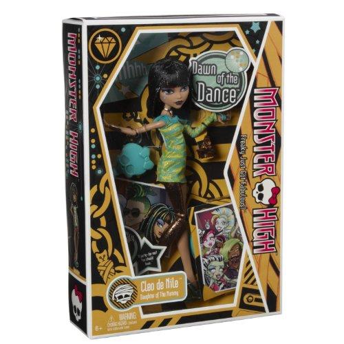 モンスターハイ 人形 ドール 【送料無料】Monster High Dawn of The Dance Cleo De Nile Doll (age: 6 - 15 years)モンスターハイ 人形 ドール