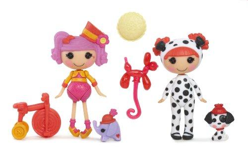 ララループシー 人形 ドール Mini Lalaloopsy Fun House dolls, Peanut and Ember,ララループシー 人形 ドール