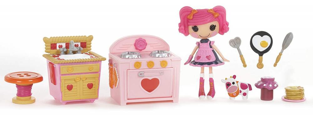 ララループシー 人形 ドール Mini Lalaloopsy Playset - Berry's Kitchenララループシー 人形 ドール