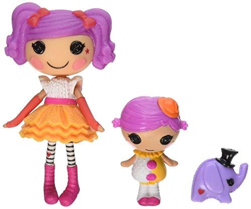 ララループシー 人形 ドール Lalaloopsy Mini Littles Doll, Peanut Big Top/Squirt Lil Topララループシー 人形 ドール