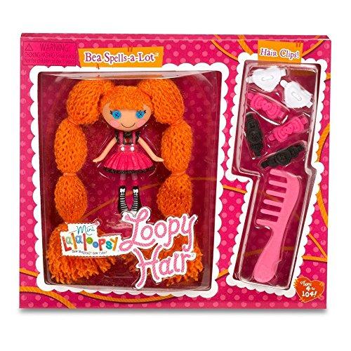 ララループシー 人形 ドール Lalaloopsy Mini Loopy Hair Bea Spells-A-Lot Dollララループシー 人形 ドール