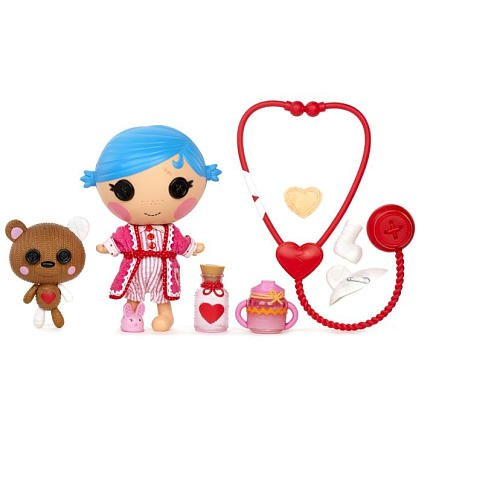 ララループシー 人形 ドール 【送料無料】Lalaloopsy Littles Doll - Sew Cute Patient by MGAララループシー 人形 ドール