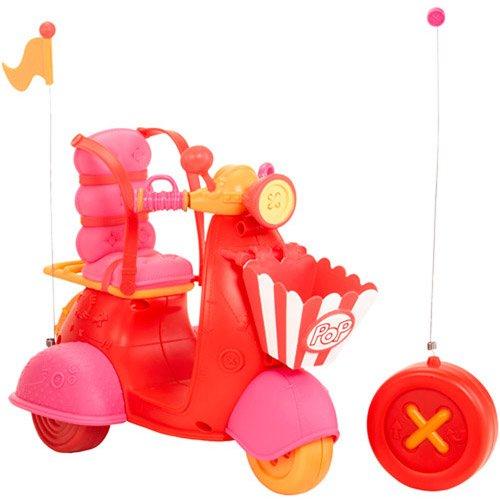 ララループシー 人形 ドール 【送料無料】27MHz Radio-Controlled Toy Scooter back wheels Plays music Popcorn pet basketララループシー 人形 ドール