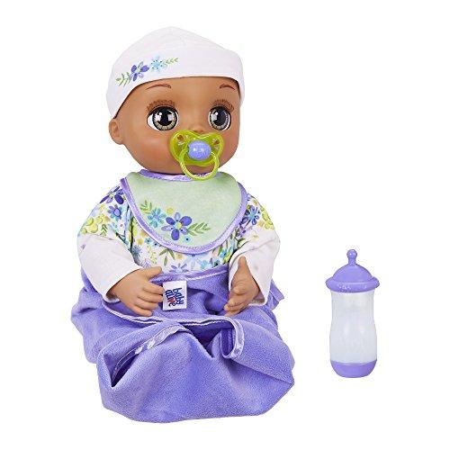 ベビーアライブ 赤ちゃん おままごと ベビー人形 Baby Alive Real As Can Be Baby: Realistic Brunette Baby Doll, 80+ Lifelike Expressions, Movements & Real Baby Sounds, With Doll Accessories, Toy for Girls andベビーアライブ 赤ちゃん おままごと ベビー人形
