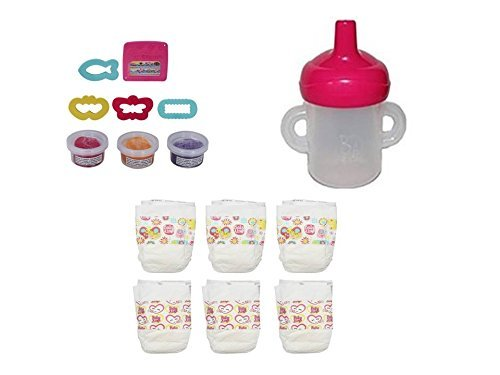 ベビーアライブ 赤ちゃん おままごと ベビー人形 Hasbro Baby Alive Bottle/Sippy Cup, Diapers and Snack Pack Refill Packベビーアライブ 赤ちゃん おままごと ベビー人形