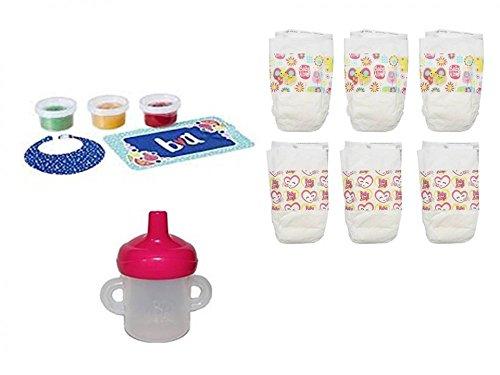 ベビーアライブ 赤ちゃん おままごと ベビー人形 Hasbro Baby Alive Diapers, Snack Pack and Sippy Cup Bundleベビーアライブ 赤ちゃん おままごと ベビー人形