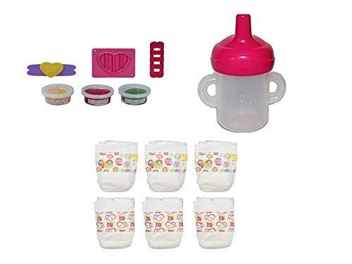 ベビーアライブ 赤ちゃん おままごと ベビー人形 Hasbro Baby Alive Bottle/Sippy Cup, Diapers and Pizza Snack Pack Refill Packベビーアライブ 赤ちゃん おままごと ベビー人形