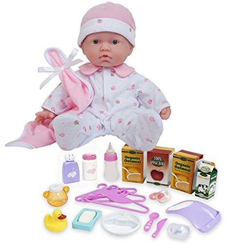 ジェーシートイズ 赤ちゃん おままごと ベビー人形 JC Toys Bundle Includes 2 Items Baby Baby Doll Playsets, La Baby 11-inch Washable Soft Body Play Doll for Children 18 Months or Older, Designed by Berenguジェーシートイズ 赤ちゃん おままごと ベビー人形