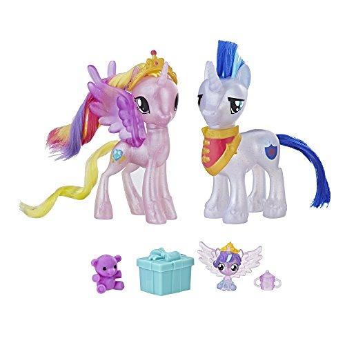 マイリトルポニー ハズブロ hasbro、おしゃれなポニー かわいいポニー ゆめかわいい 【送料無料】My Little Pony Princess Cadance & Shining Armor Set Toyマイリトルポニー ハズブロ hasbro、おしゃれなポニー かわいいポニー ゆめかわいい