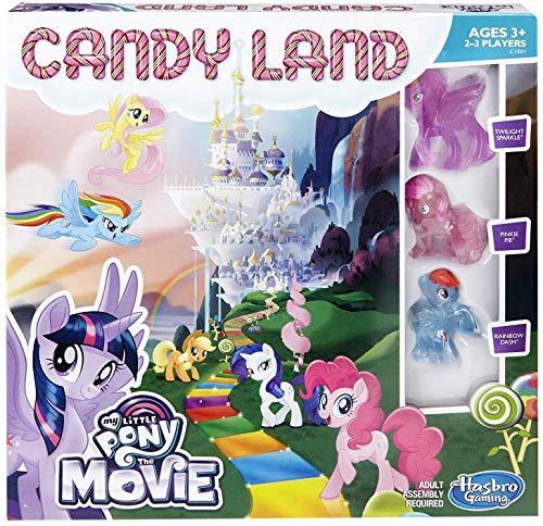 マイリトルポニー ハズブロ hasbro、おしゃれなポニー かわいいポニー ゆめかわいい 【送料無料】Candy Land Game: My Little Pony the Movie Editionマイリトルポニー ハズブロ hasbro、おしゃれなポニー かわいいポニー ゆめかわいい