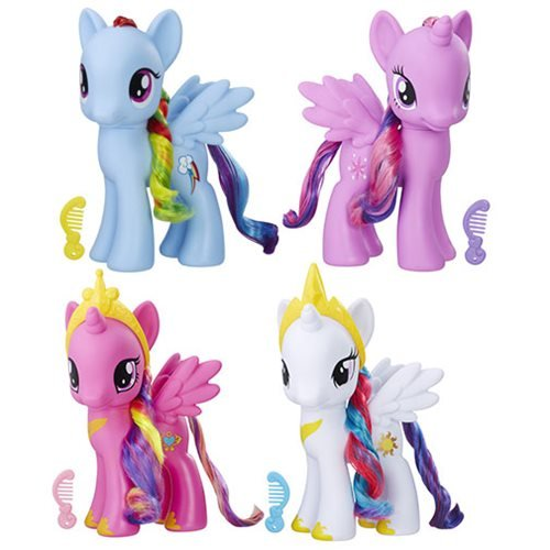 マイリトルポニー ハズブロ hasbro、おしゃれなポニー かわいいポニー ゆめかわいい 【送料無料】My Little Pony Friendship is Magic Basic 8-Inch Wave 5 Setマイリトルポニー ハズブロ hasbro、おしゃれなポニー かわいいポニー ゆめかわいい