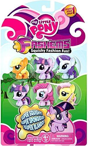 マイリトルポニー ハズブロ hasbro、おしゃれなポニー かわいいポニー ゆめかわいい 【送料無料】My Little Pony My Little Pony Fash'Ems Series 1 Mini Figure 6-Packマイリトルポニー ハズブロ hasbro、おしゃれなポニー かわいいポニー ゆめかわいい