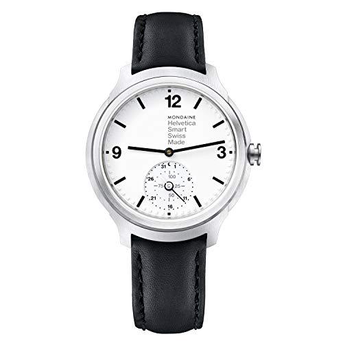 モンディーン 北欧 スイス 腕時計 レディース MH1.B2S10.LB 【送料無料】Mondaine Helvetica Stainless Steel Quartz Watch with Leather Strap, Black, 20 (Model: MH1.B2S10.LB)モンディーン 北欧 スイス 腕時計 レディース MH1.B2S10.LB