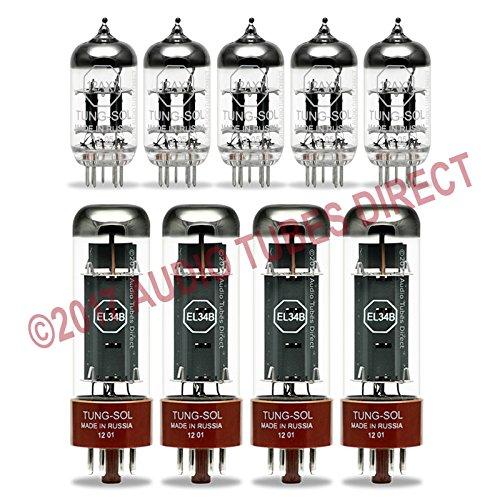 真空管 ギター・ベース アンプ 海外 輸入 EL34B 12AX7 Tung-Sol Tube Upgrade Kit For Marshall JCM 800 2210, 4211 Amps EL34B 12AX7真空管 ギター・ベース アンプ 海外 輸入 EL34B 12AX7