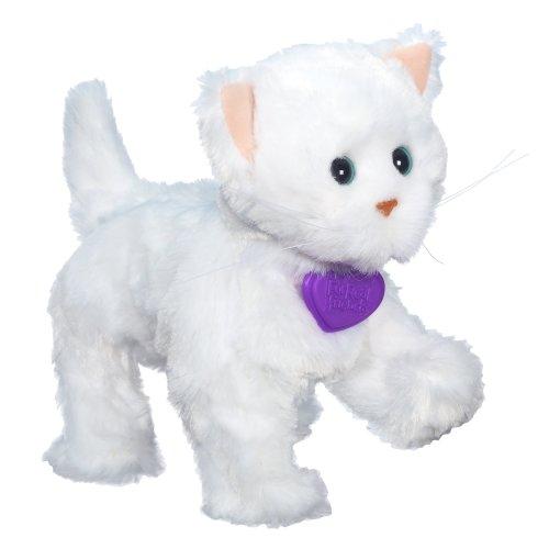 ファーリアルフレンズ ぬいぐるみ 動く 鳴く お世話 【送料無料】FurReal Friends Lulus Walkin Kitties Sugar Paws Pet (White)ファーリアルフレンズ ぬいぐるみ 動く 鳴く お世話