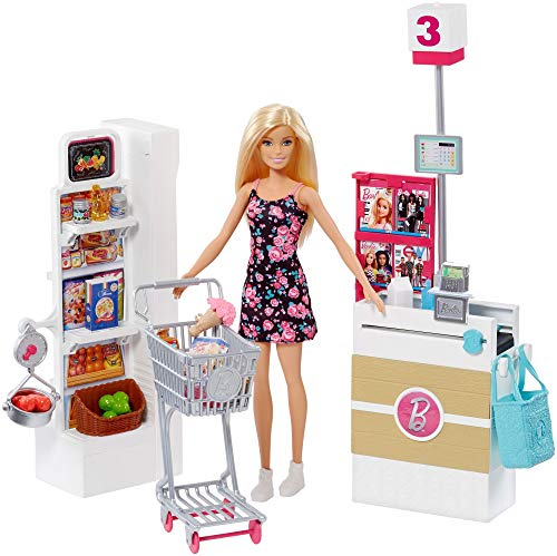 バービー バービー人形 日本未発売 プレイセット アクセサリ Barbie Supermarket Set, Blondeバービー バービー人形 日本未発売 プレイセット アクセサリ