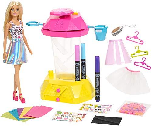 バービー バービー人形 日本未発売 プレイセット アクセサリ 【送料無料】?Barbie Crayola Confetti Skirt Studio, Barbie Crafts Playset with Dollバービー バービー人形 日本未発売 プレイセット アクセサリ