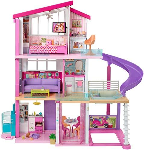 バービー バービー人形 日本未発売 プレイセット アクセサリ 【送料無料】? Barbie Dreamhouse Dollhouse with Pool, Slide and Elevatorバービー バービー人形 日本未発売 プレイセット アクセサリ